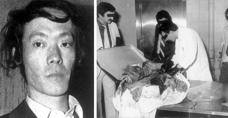 靠洋女吸取能量!日本食人魔35年前吃掉女同學「肉質像鮪魚」!整桌「剩菜」嚇壞警察…如今在東京出書出名!