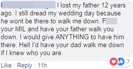 惡婆婆禁止新娘的「怪獸爸爸」參加婚禮 狠嗆媳婦:妳爸會嚇到小孩!